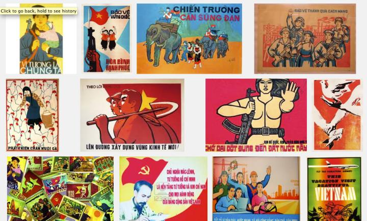 Vietnamese Propaganda Poster