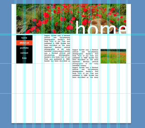Inclass Tutorial - applying the 12 column based 960px grid to a website