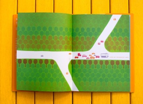 From 'Henri's Walk to Paris' 1962 - children's book by Saul Bass Found at: Brainpickings.org