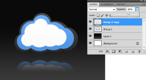 Image 3 - Change Layer Opacity
