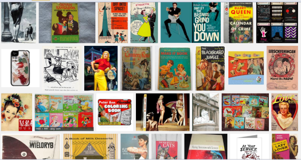 Retro Book Cover Illustrations 50s - Click the image for a Google Search