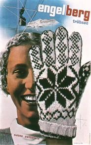 Swiss travel poster from 1934 by Herbert Matter - Source: http://swisstype.wordpress.com/work/
