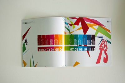 Colours, Numbers and Boxes - very happy and alive, personally I do not like the distortion of the word content - found at: Flickr
