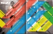 Colourful Table of Content - Ribbons in Primary Colours - found at: LifeBlue.com