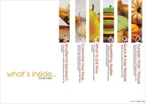 Fruity Design - This is great for a menu, very appetizing thumbnails - found at: WeddingPhotography.com
