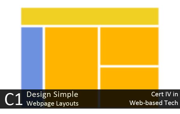 Banner_Cert IV WebBTech-designSimpleWebsite