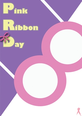 Pink Ribbon Day - Swiss International Style Reference - by Hwan Rochanabuddhi