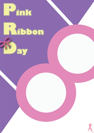 Pink Ribbon Day - Swiss International Style Reference - by Hwan Rochanabuddhi