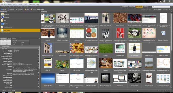 Adobe Bridge Screenshot