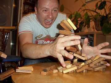 Jenga, photo courtesy of: Design-Crit.com