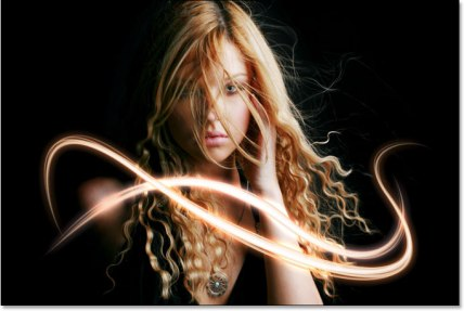 Light Streaks - Courtesy of: PhotoshopEssentials