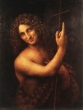 Leonardo's St. John the Baptist, Louvre, Paris, Image: courtesy of A World History of Art - www.all-art.org