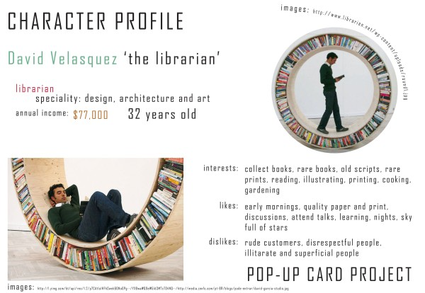 Character Profile - The Librarian